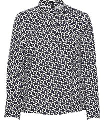 blouse long-sleeve blus långärmad svart gerry weber