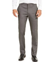 tommy hilfiger men's modern-fit thflex stretch knit dress pants