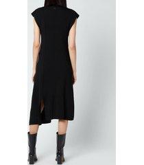 kenzo women's asymmetrical dress - black - l