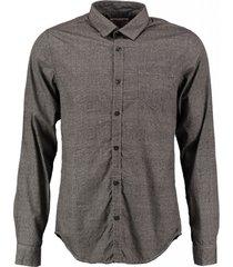 garcia slim fit overhemd valt kleiner