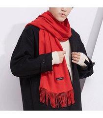 sciarpa in misto cashmere vintage da donna con scialli morbidi invernali in nappa