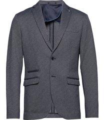 slhslim-new blazer b blazer colbert grijs selected homme