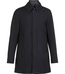 herno double profile viscose jacket