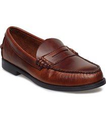 plaza shoes business loafers brun sebago