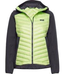 w verglas light jacket gevoerd jack groen helly hansen