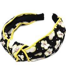 natasha floral knotted headband