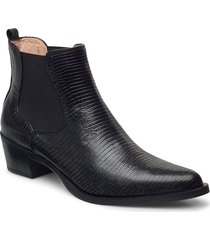 greyson_f20_btj shoes boots ankle boots ankle boot - heel svart unisa