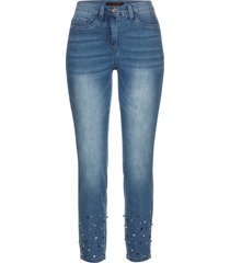jeans superstretch con strass (blu) - bpc selection premium
