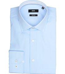 hugo boss overhemd goran lichtblauw rf 50421521/452