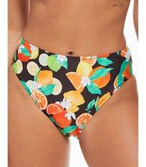 seville mindful high waist high leg tummy control bikini bottom