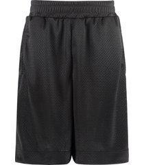 fendi mesh fabric pants