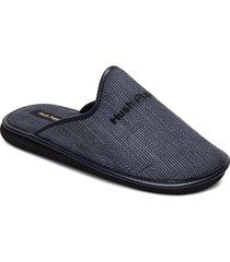 condor espiga slippers tofflor blå hush puppies