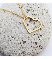 naszyjnik z sercem, heart necklace