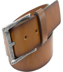 florsheim men's albert saddle leather belt