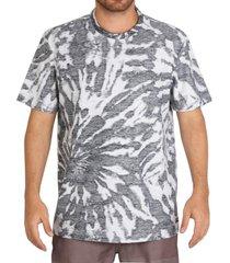 camiseta lost dye dont panic - preto - masculino - dafiti
