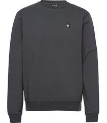 polo sweat-shirt tröja grå ea7