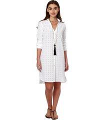 camisão emilia cor: branco - tamanho: p