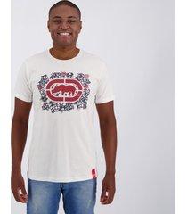 camiseta ecko basic style off white.