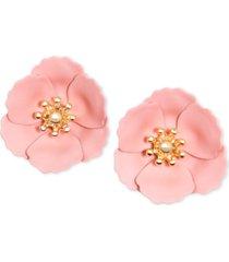 zenzii poppy stud earrings