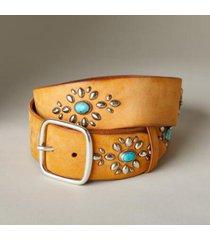 sundance catalog women's shailene belt in tan xs