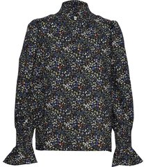 blouse blouse lange mouwen zwart sofie schnoor