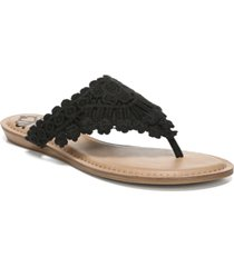 fergalicious samba thong flat sandals women's shoes