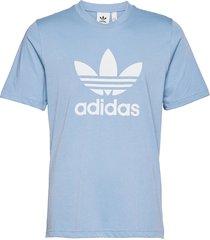 adicolor classics trefoil tee t-shirts short-sleeved blå adidas originals
