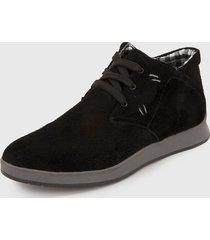 zapato casual negro-gris monserrate