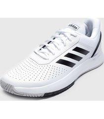 zapatilla courtsmash blanco adidas performance