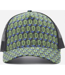 dsquared2 baseball cap with all-over monogram
