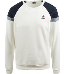 sweater le coq sportif imprime crew sweat