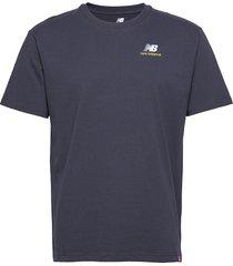 mt11592 t-shirts short-sleeved blå new balance