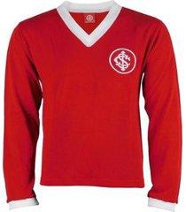 camisa manga longa internacional retrô 1975 figueroa tricô masculina