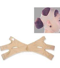 face-lift cintura face mantello v shaper sleeping shaping maschera facciale dimagrimento fasciatura colore della pelle