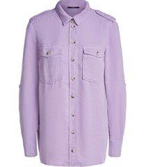doorknoop blouse jill  paars