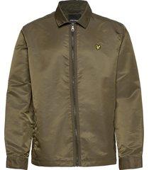 lightweight nylon jacket dun jack groen lyle & scott