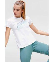 polera graphic t-shirt blanco tommy sport
