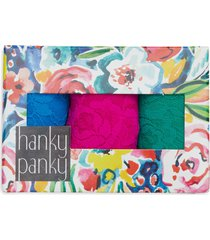 hanky panky assorted 3-pack low rise thongs in summer 2021 at nordstrom