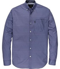 long sleeve shirt print on poplin medieval