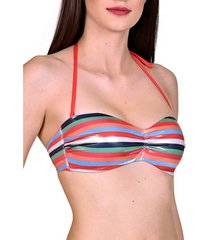 bikini lisca malia cheek underwire bandeau swimsuit top