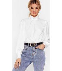 womens act like you square embellished belt - black