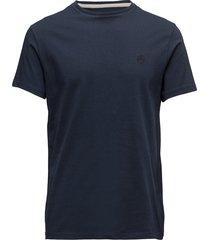 ss dun-river crew t t-shirts short-sleeved blå timberland