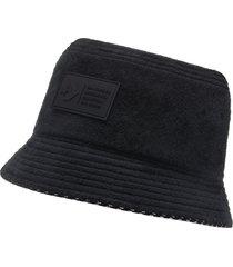 converse sombrero tipo pescador fleece black