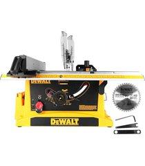 """serra de mesa dewalt dwe7470, profissional, 10"""", 1800 watts - 110 volts"""
