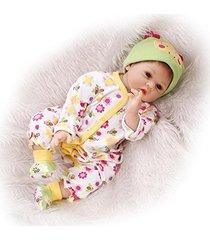 cutie patootie reborn doll lifelike newborn fake babies mohair,22-inch kids gift