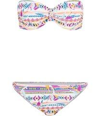 bikini a balconcino con ferretto (set 2 pezzi) (bianco) - bodyflirt