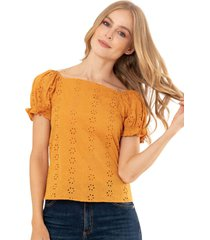 blusa cadiz amarillo ragged pf11112145