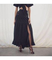 falda julia negro
