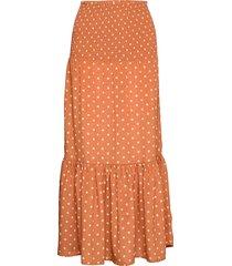 skirt lång kjol orange sofie schnoor