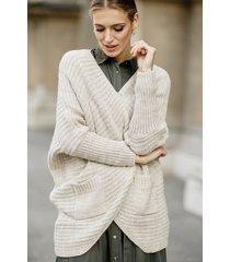 ciepły sweter oversize mila